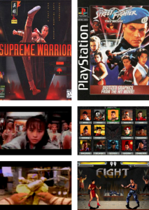 Street Fighter: The Movie (1995) and Supreme Warrior (1995)