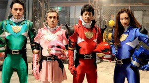 "The colorful Super Sentai-ish cast of ""Unsung Hero"""