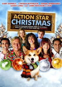 """Action Star Christmas"" DVD Cover"