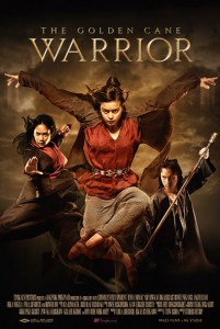 """The Golden Cane Warrior"" Theatrical Poster"