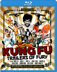 """""""Kung Fu: Trailers of Fury"""" Blu-ray Cover"""