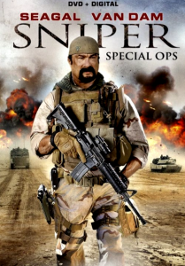 """""""Sniper: Special Ops"""" DVD Cover"""